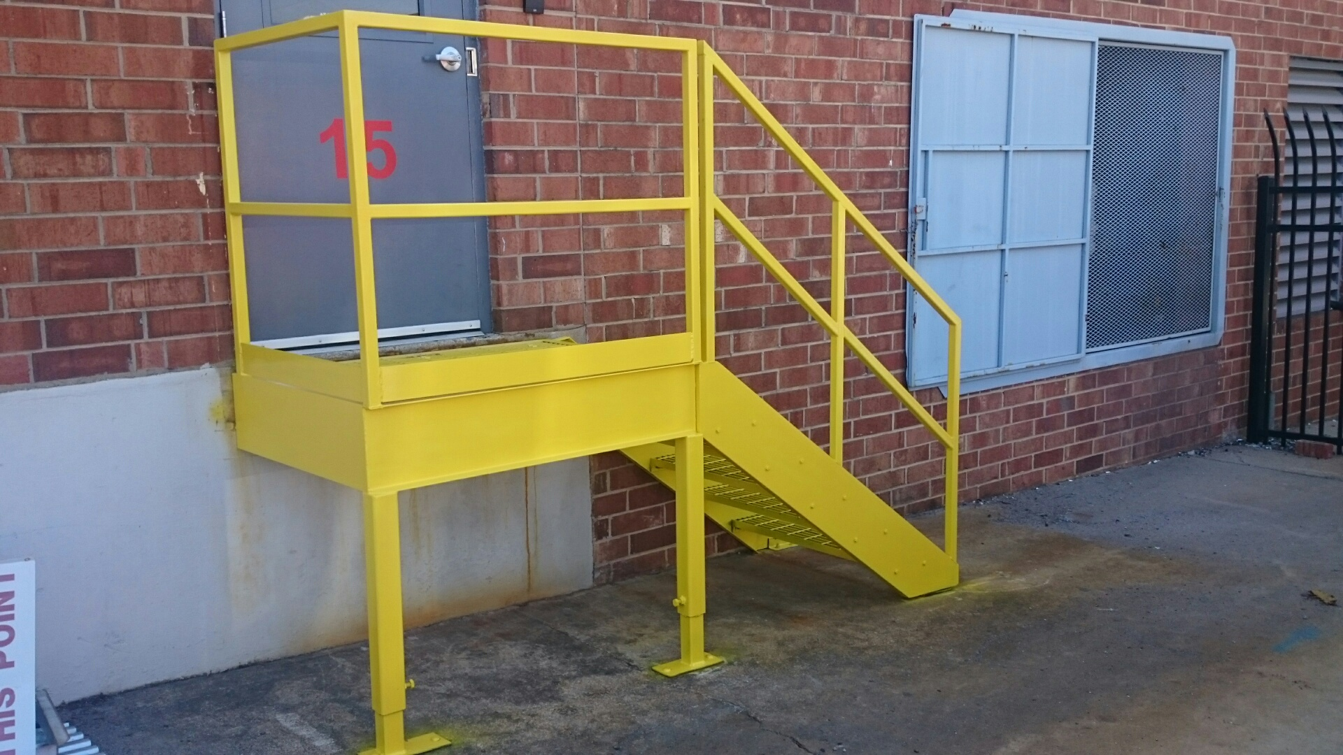 stairs for maintenance shop 2.JPG